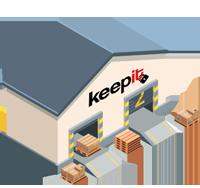 קיפאיט keepit אחסון תכולת דירה