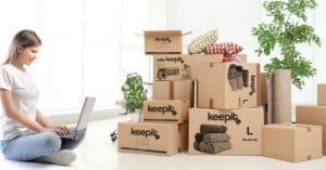 קיפאיט keepit פתרונות אחסון - אחסון תכולת דירה